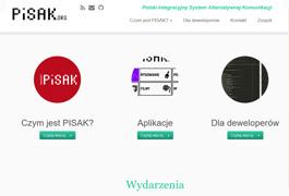 Strona projektu PISAK